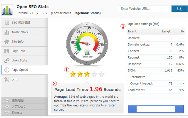 Open-SEO-Stats-Page-Speed